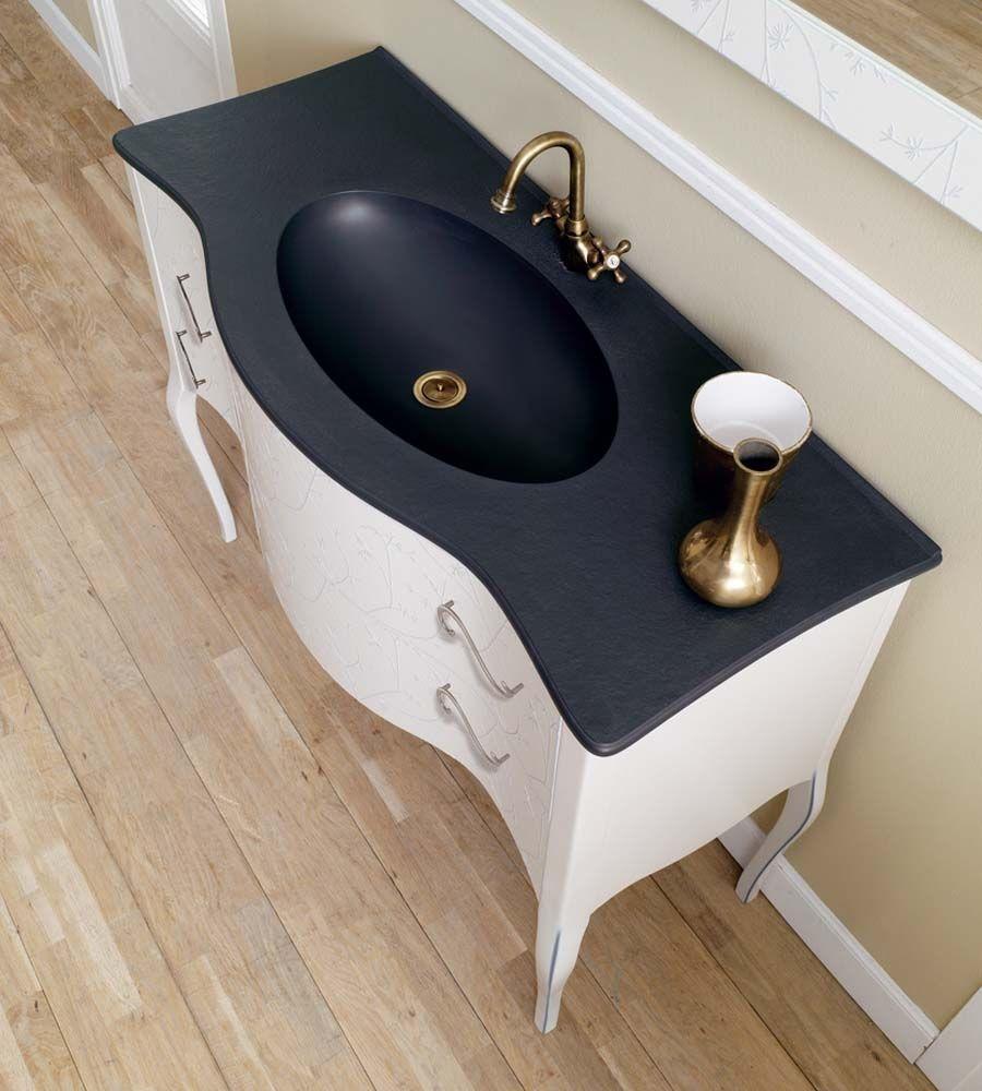 Free standing bathroom sink vanity
