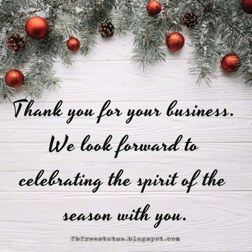Christmas Greeting Messages For Business With Images Christmas