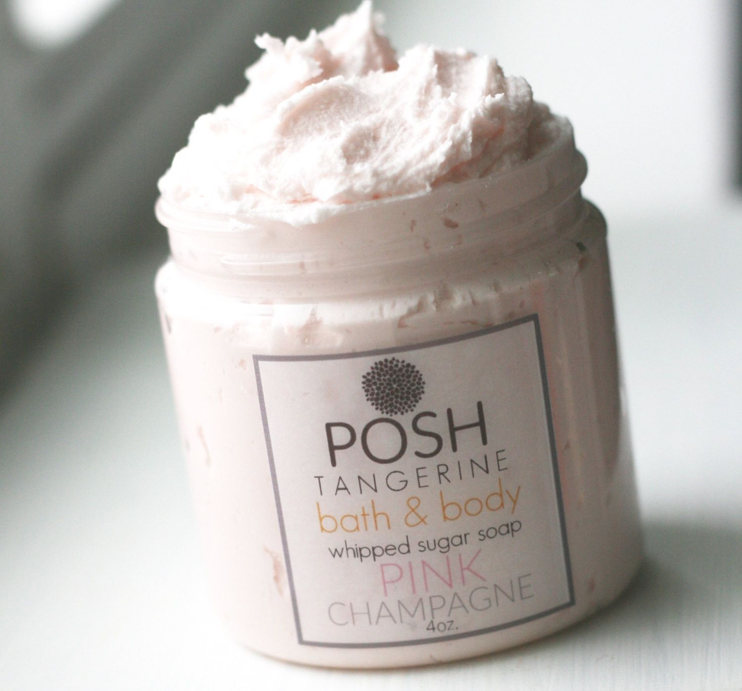 Posh Tangerine ~ Pink Bubbly ~ Whipped Sugar Soap