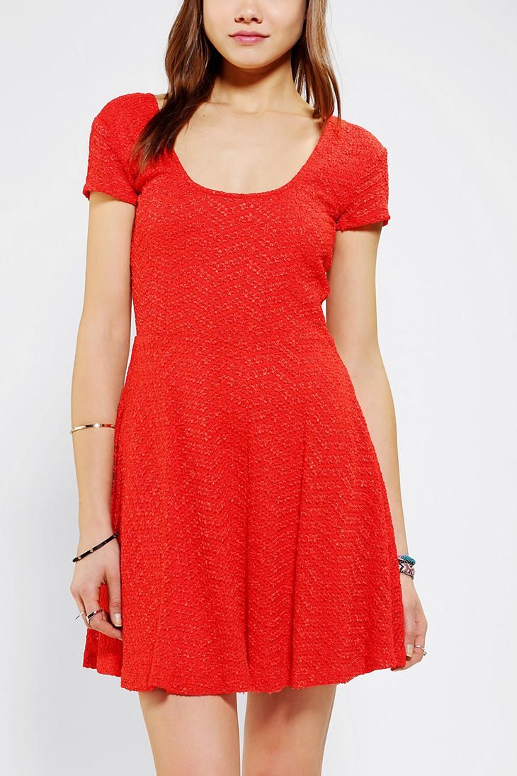 Pins And Needles Clothing Impressive Pins And Needles Daisy Textured Skater Dress  Clothes Pinterest Design Ideas