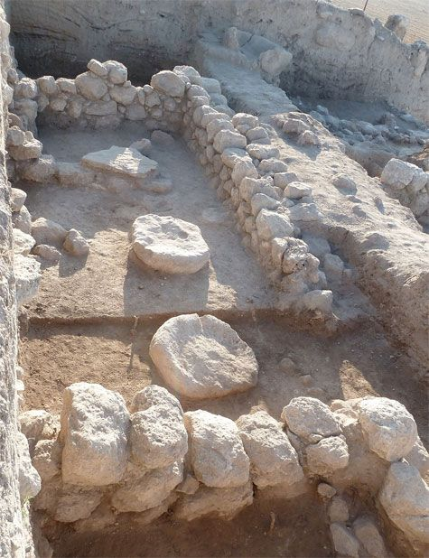 Map Of En Shemesh: 3,100-year-old Temple Complex Found Outside Of Jerusalem