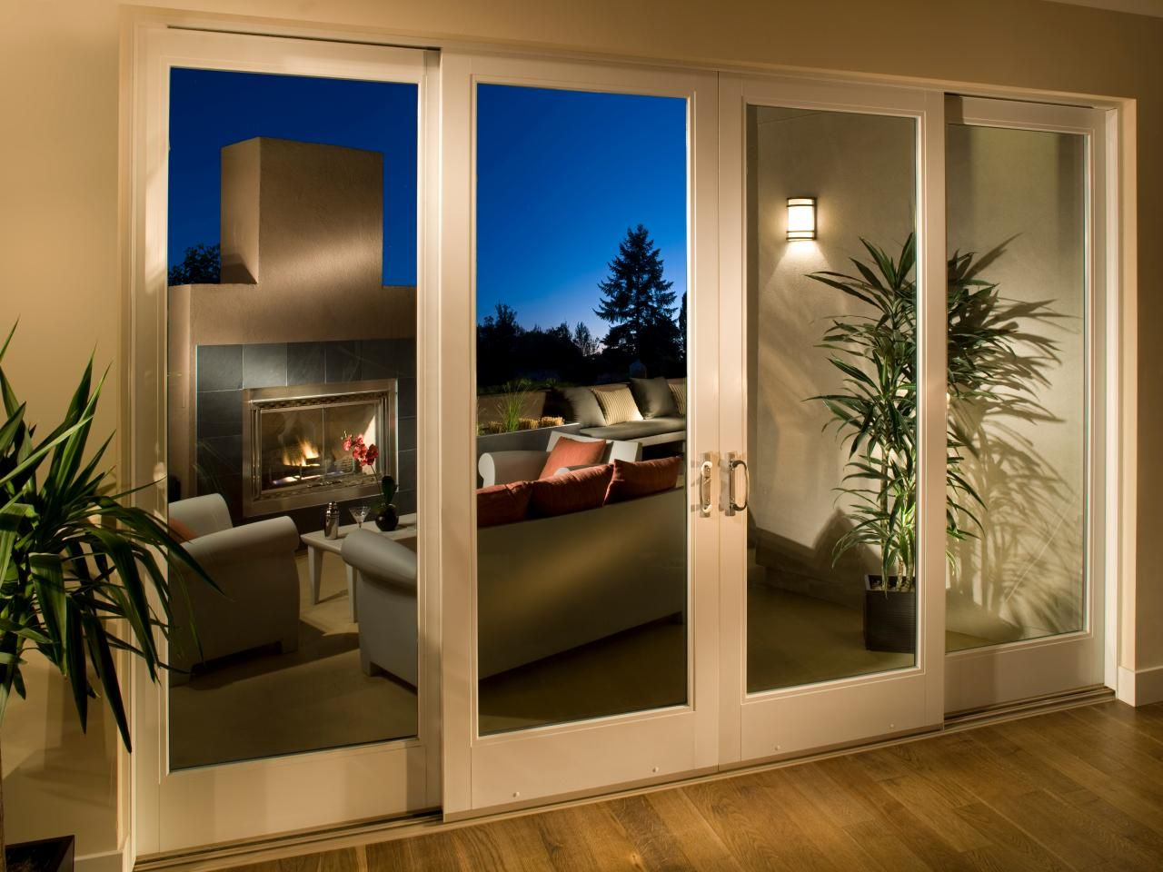 Cleaning Living Room Exterior sliding patio doors | patio doors, hgtv and living spaces