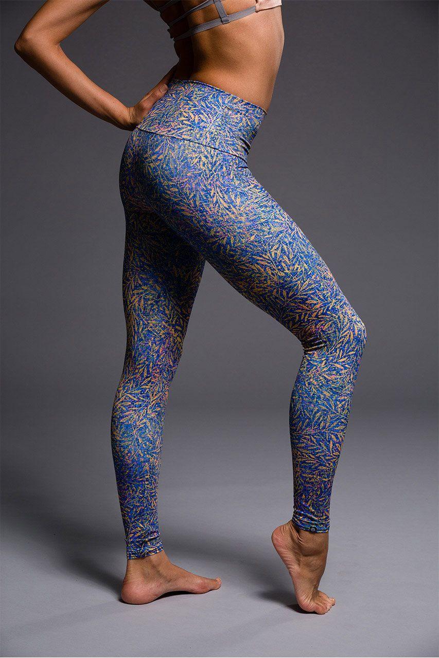 Onzie Yoga Clothes Printed Yoga Pants High waisted