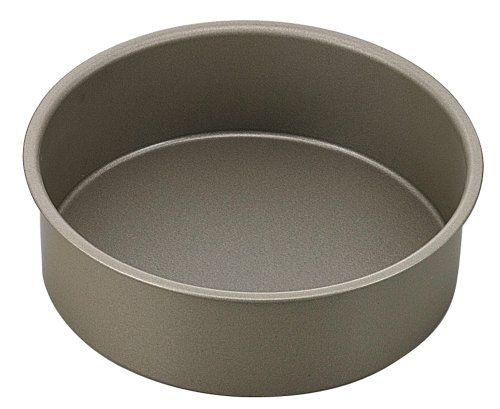Lautechco® 8 inch Lautechco Anodized Aluminum Live Bottom cylinder Fondant Decorating Cake Mold Chiffon Cake Pans DIY Baking Tools