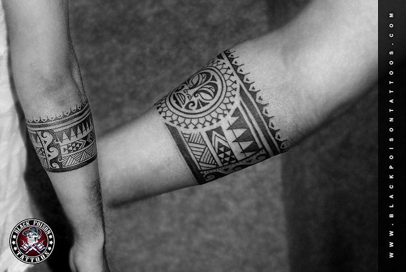 Polynesian Armband Tattoo Polynesian Armband Tattoo Tiki Tiki Is Human Like Figure T Flickr Armband Micro In 2020 Arm Band Tattoo Maori Tattoo Band Tattoo