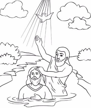 Hermosas y conmovedoras imagenes del bautismo de jesus | Bíblicos ...