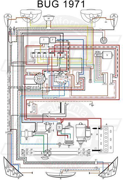 Vw Tech Article 1971 Wiring Diagram