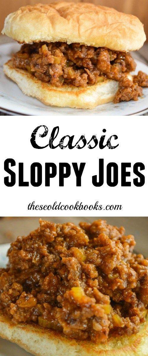 Classic Sloppy Joes