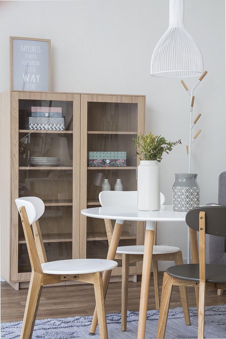 Slow mesa de comedor cocina redonda cocina pinterest for Mesas y sillas para comedor pequeno