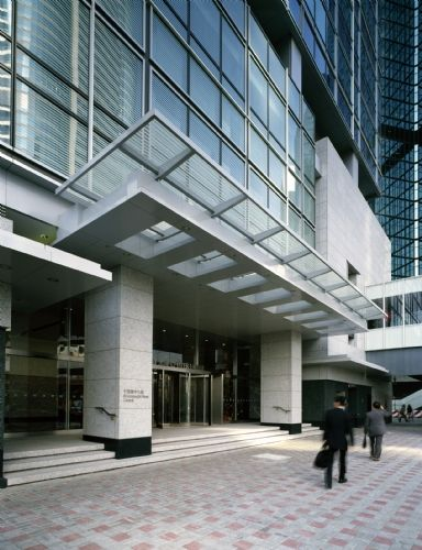 Kohn pedersen fox associates projects chater house for Building canopy design