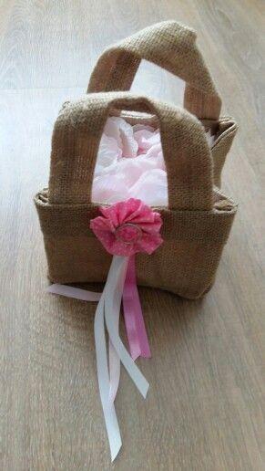 Tasje voor de bloemenmeisjes
