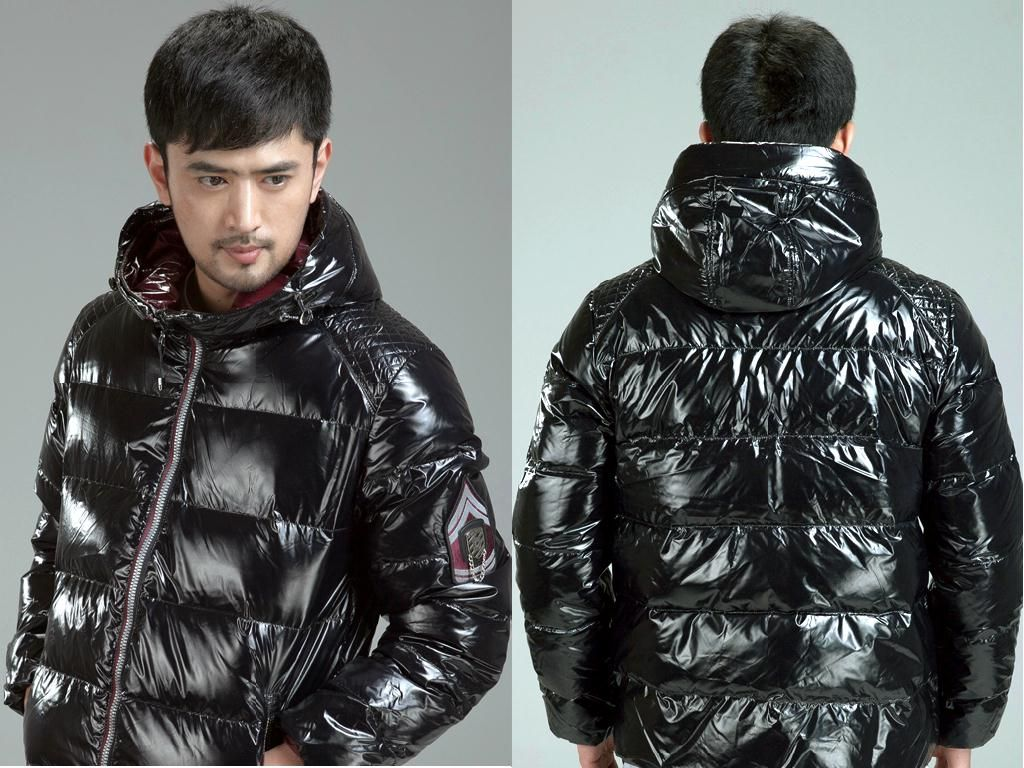 Shiny Down Jacket Coat Nj