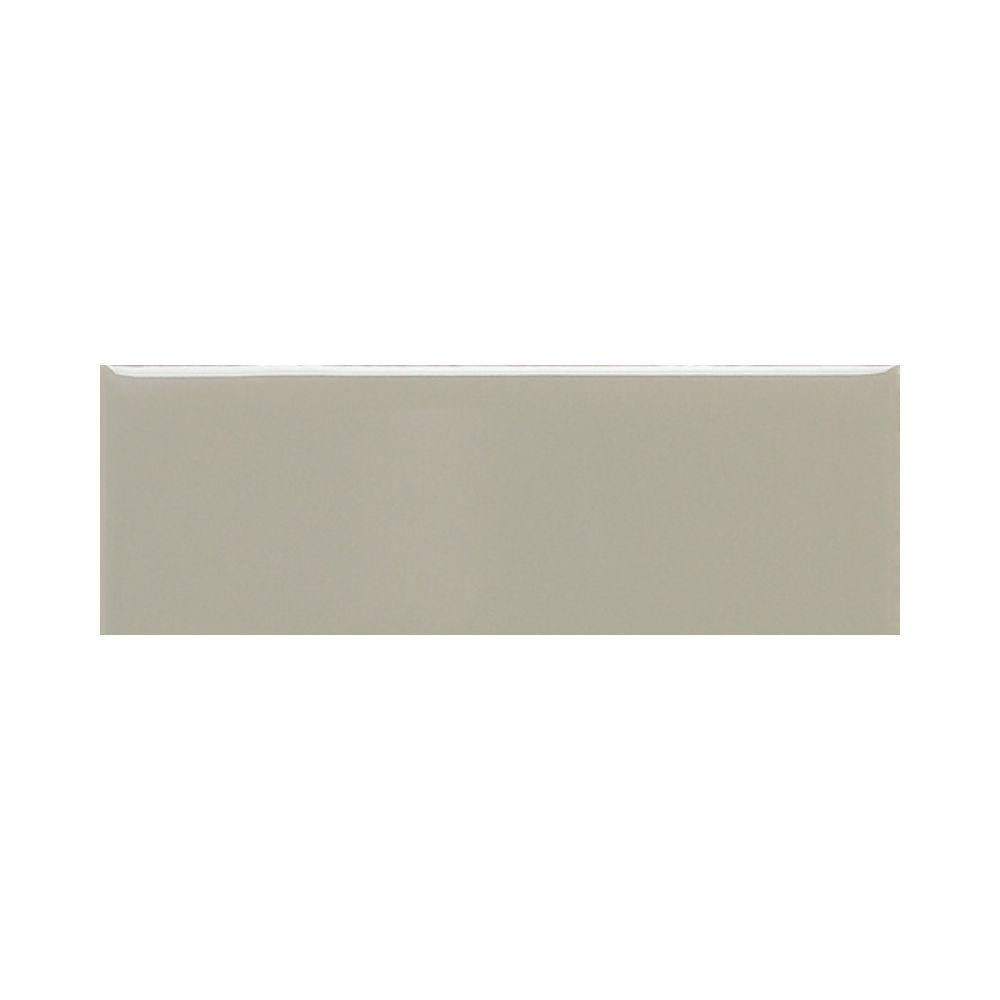 Daltile Modern Dimensions Matte Architectural Gray 4 1 4 In X 12 In Ceramic Subway Wall Tile 10 64 Sq Ft Case 0709412mod1p1 The Home Depot Ceramic Wall Tiles Daltile Wall Tiles
