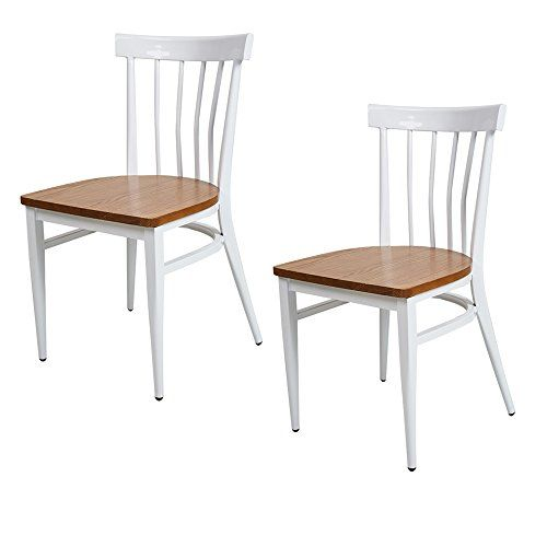 Admirable Dporticus Dining Room Chairs W Solid Wood Seat Metal Frame Forskolin Free Trial Chair Design Images Forskolin Free Trialorg