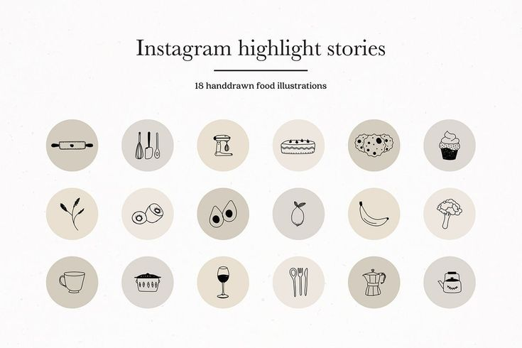 Instagram Story Highlights Icons Covers