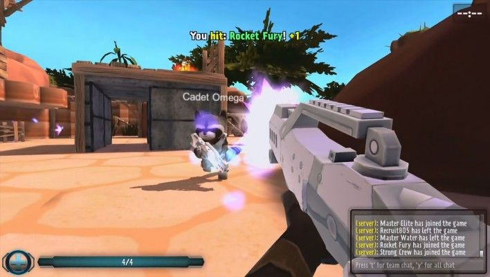 Wild Warfare is a Indie, Free to play fast-paced First