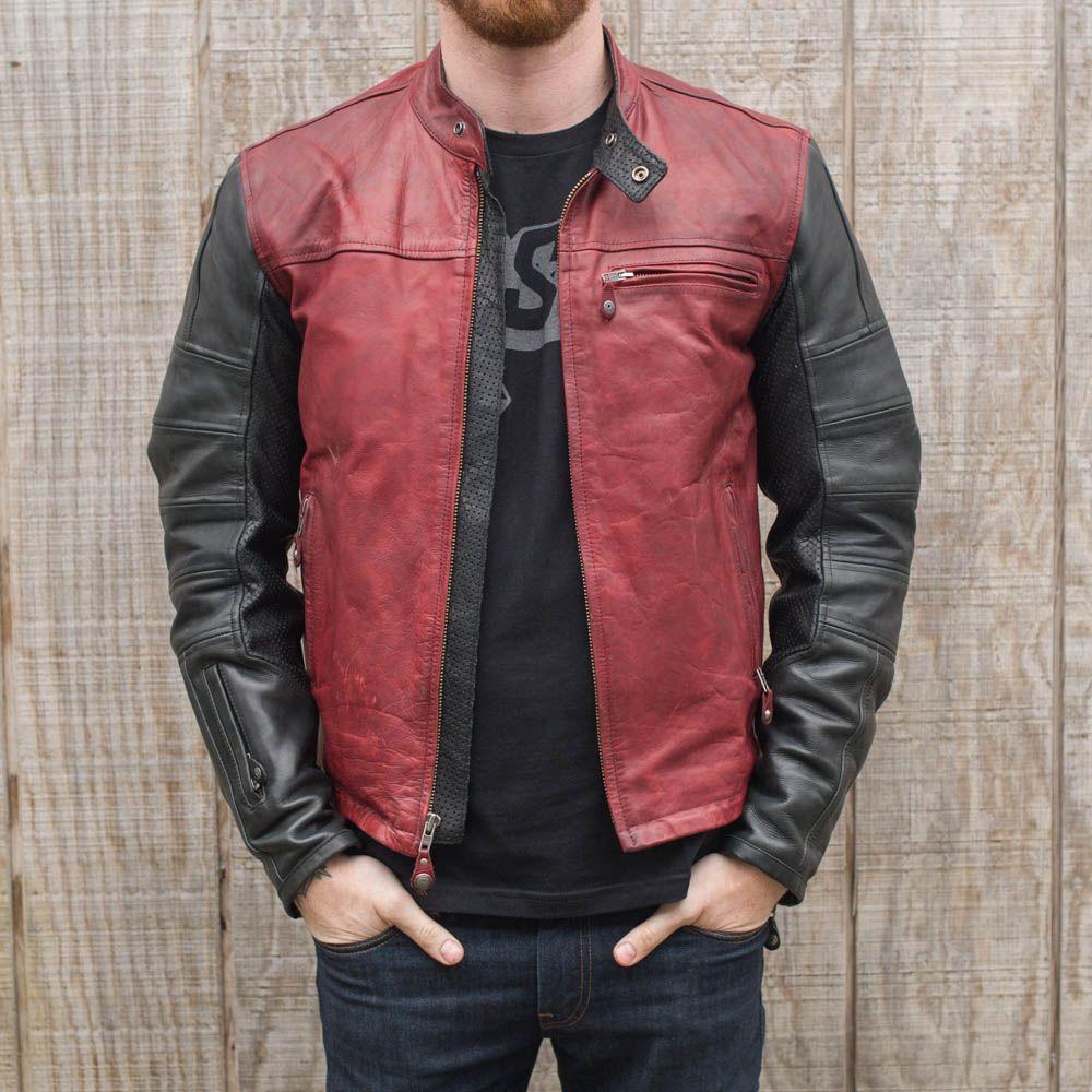 Roland Sands Ronin Jacket Oxblood At Town Moto Leather Jacket Leather Riding Jacket Real Leather Jacket [ 1000 x 1000 Pixel ]