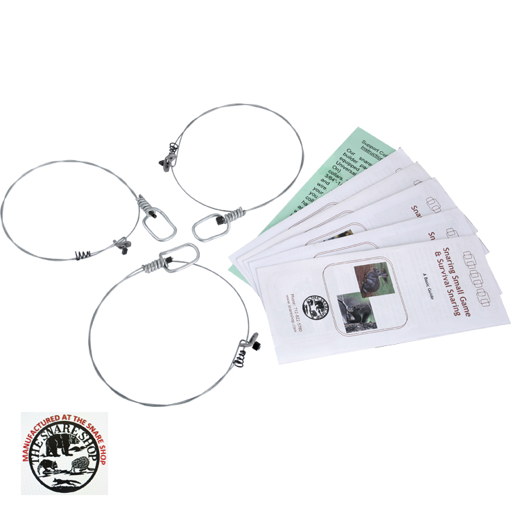 SURVIVAL SNARE KIT - Survival snares will capture small animals such ...