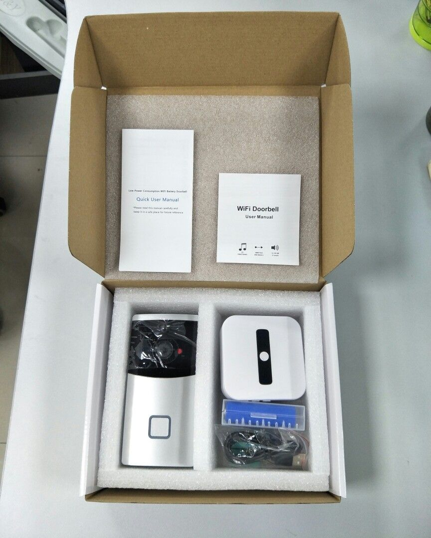 Door Bell Camera could send notification to phone APP and make video