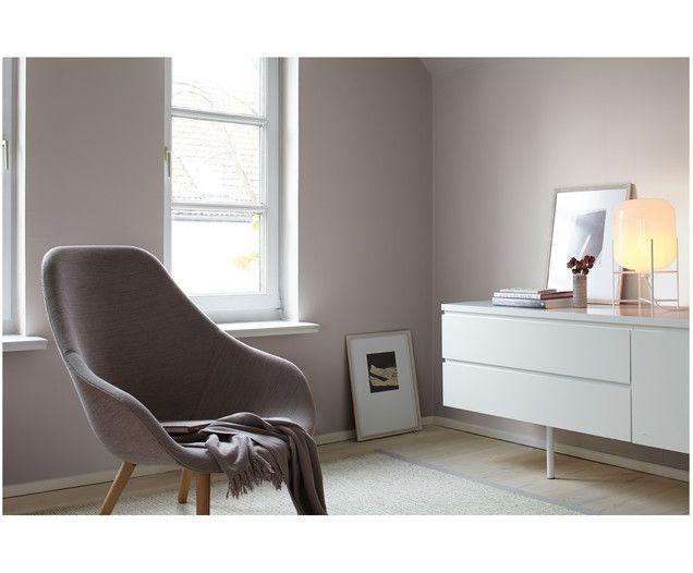 Wandfarbe Poesie der Stille Wandfarbe, Feine farben und - wandgestaltung wohnzimmer grau