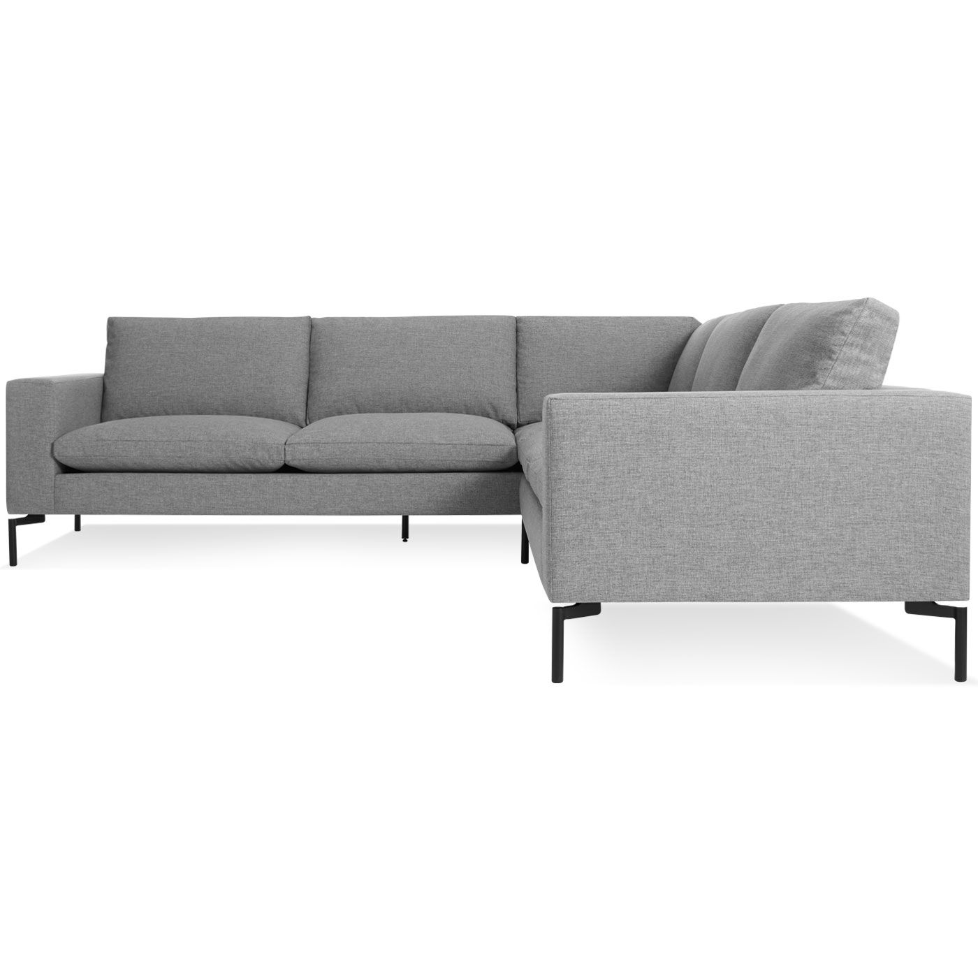 Crate & Barrel Axis II 3 Piece Sleeper Sectional