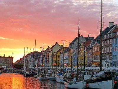 Copenhagen Denmark City By The Sea Scenic Copenhagen Denmark