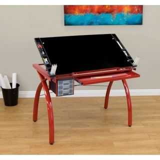 Bon Studio Designs Futura Drafting And Hobby Craft Station Table