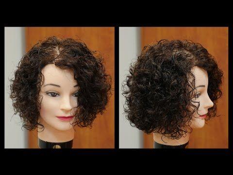 Womens Medium Length Haircut For Curly Hair TheSalonGuy - Youtube short curly hair