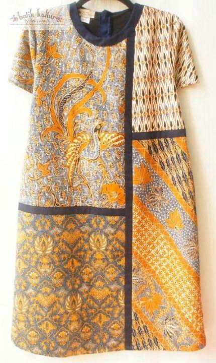 Reshaped puzzled dress sogan