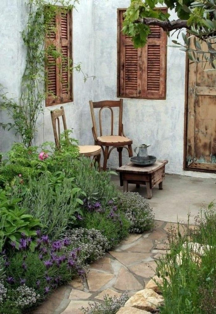 bildergebnis f r shabby garten gestalten garten pinterest shabby chic garten shabby chic. Black Bedroom Furniture Sets. Home Design Ideas