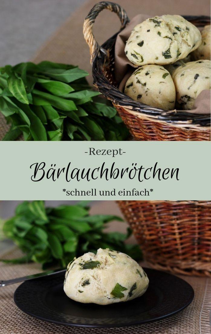 Rezept Barlauchbrotchen The Inspiring Life Rezepte Barlauchbrot Lecker