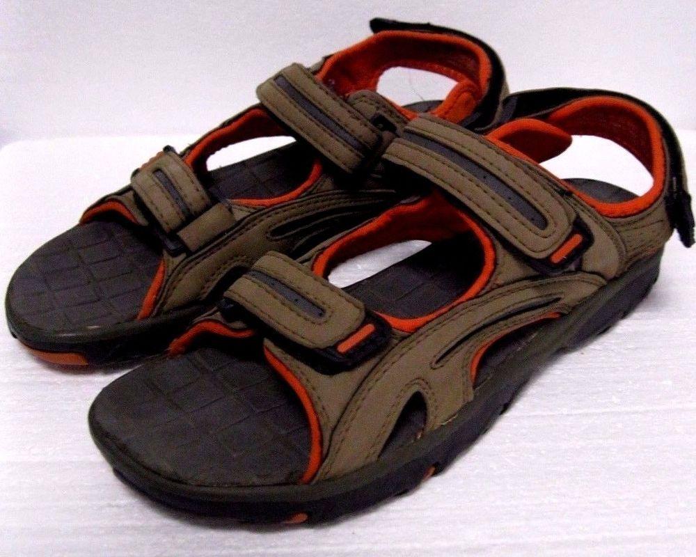 f9891a449210 Men s Sandals Ozark Trail Size 9.5 (Calvin Style) Trail Sport Hiking Sandals   OzarkTrail  Strap