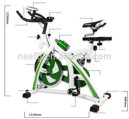 Belt Drive Exercise Bicycle Pedal Power Generator Bicycle Workout Bicycle Pedals Belt Drive