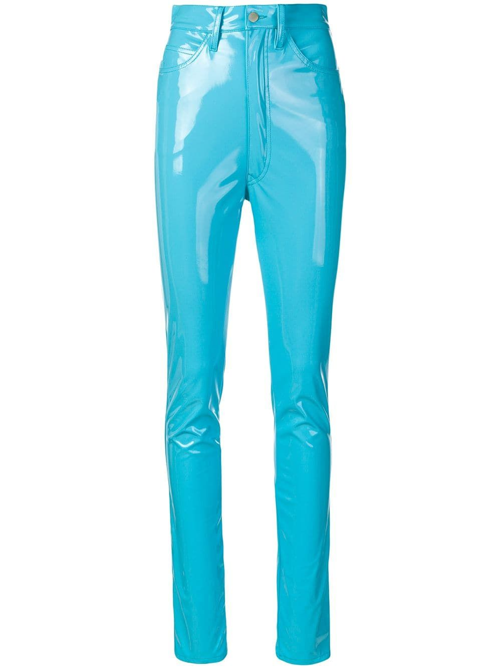 f531fba4a8b Maison Margiela high-waisted trousers - Blue in 2019 | Products ...