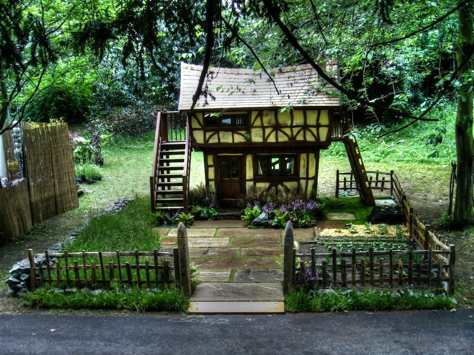 Childrens Play House For Sale Part - 37: Chelsea (Tudor House Custom Made Wooden Childrens Playhouse Wendy House)