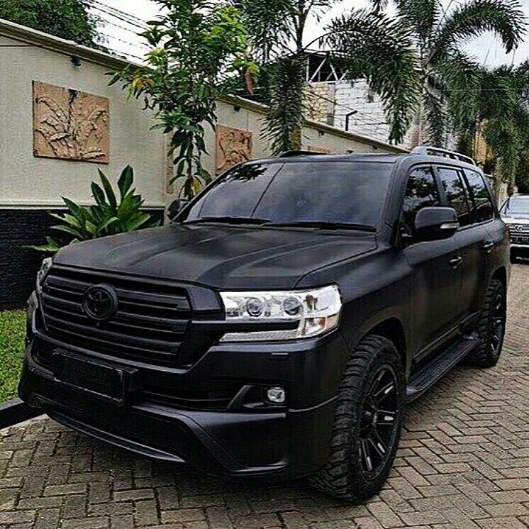 All Black Everything Toyota Suv