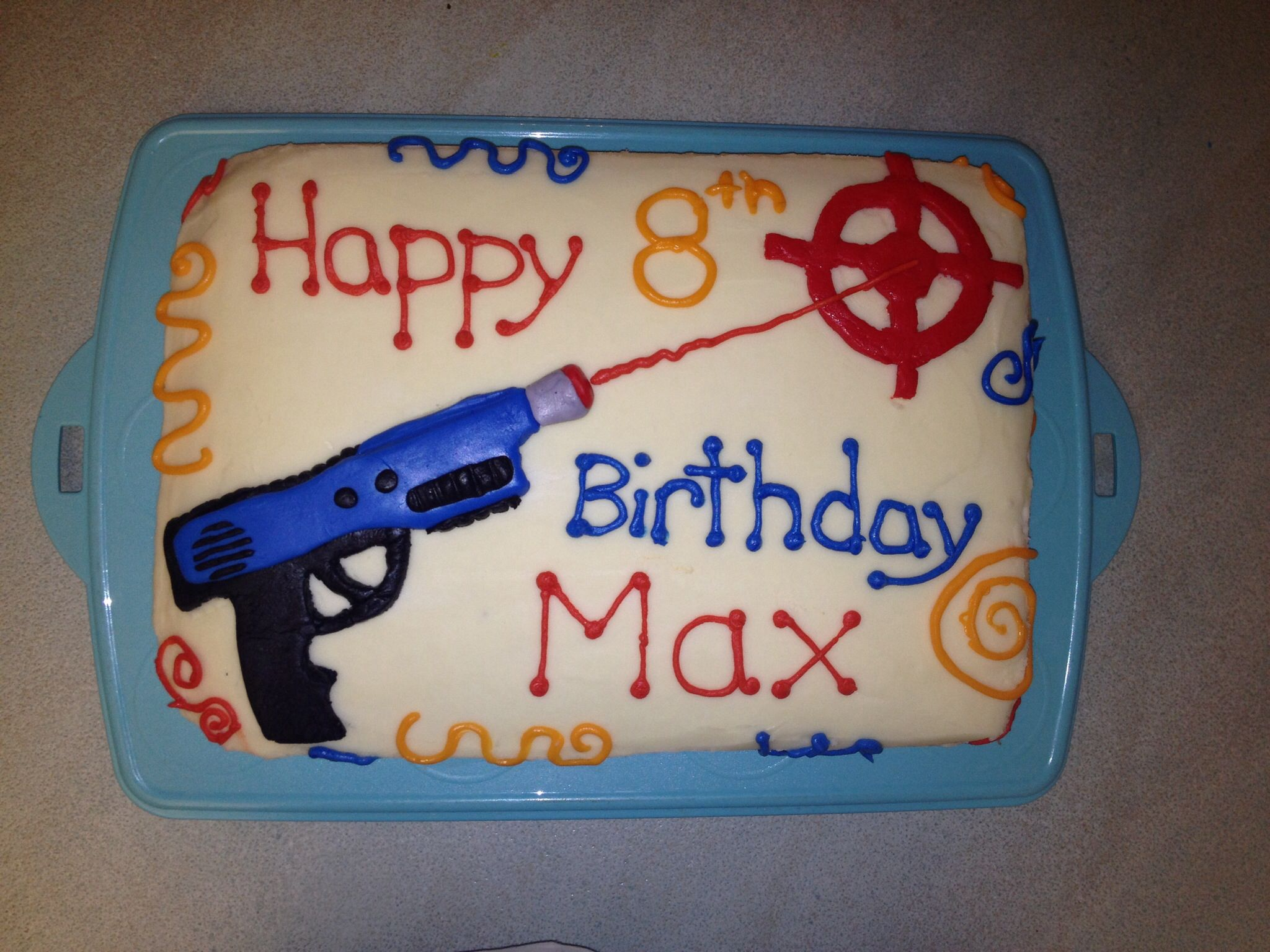 Laser tag birthday cake Good to Know Pinterest Laser tag