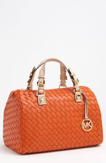 329bb12c86f9fd MICHAEL Michael Kors 'Grayson - Large' Leather Satchel available at  #Nordstrom