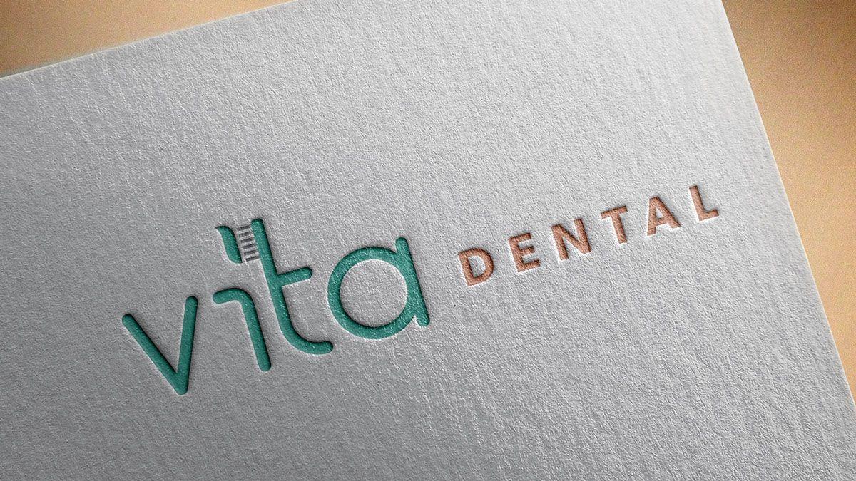 Vita Dental | Dentist Logo Design