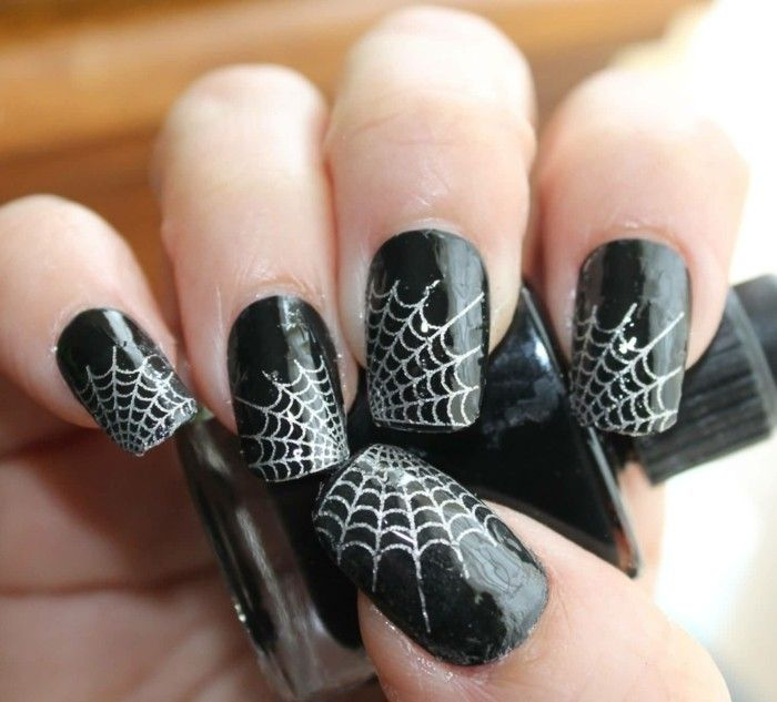 Halloween Nägel.Halloween Nägel 53 Schaurige Nageldesigns Für Die Gruselparty