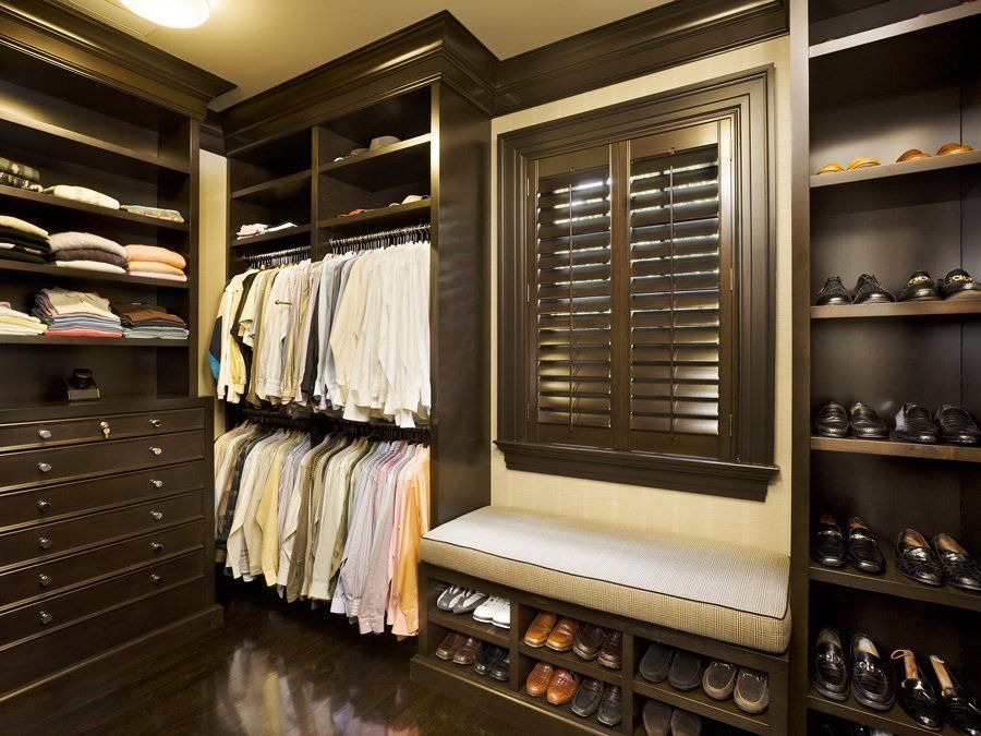 Man Closet With A Window Great Idea For Natural Airflow And Ventilation