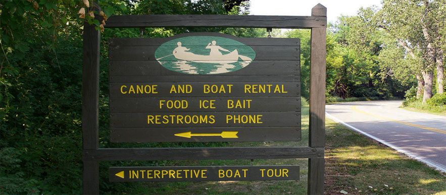 Canoe kayak and boat rentals at presque isle state park