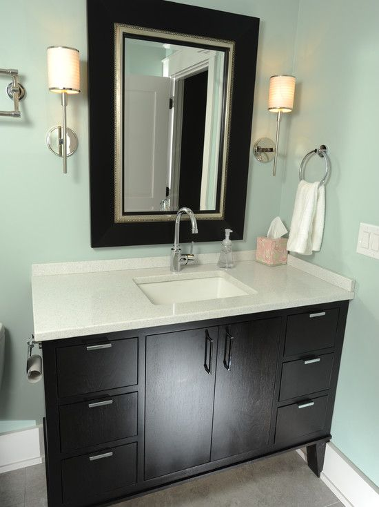 Merveilleux Adorable Modern Bathroom Designs With Luxurious Furniture: Small Black And  White Bathroom Vanity Classic Bathroom Ideas ~ SQUAR ESTATE Bathroom  Inspiration