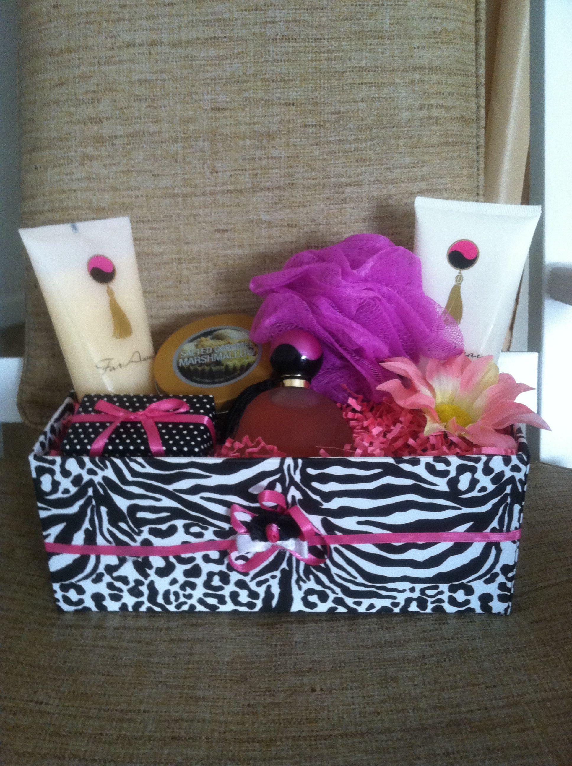 Far Away Bath Gei, Lotion, & Perfume Gift Basket | edd~Exotic ...