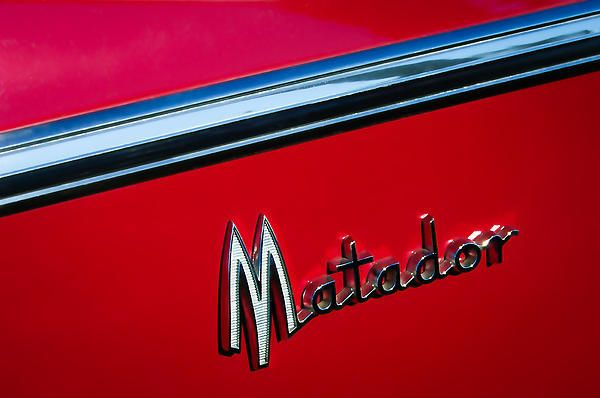 1960 Dodge Matador Emblem By Jill Reger Dodge Emblems Matador