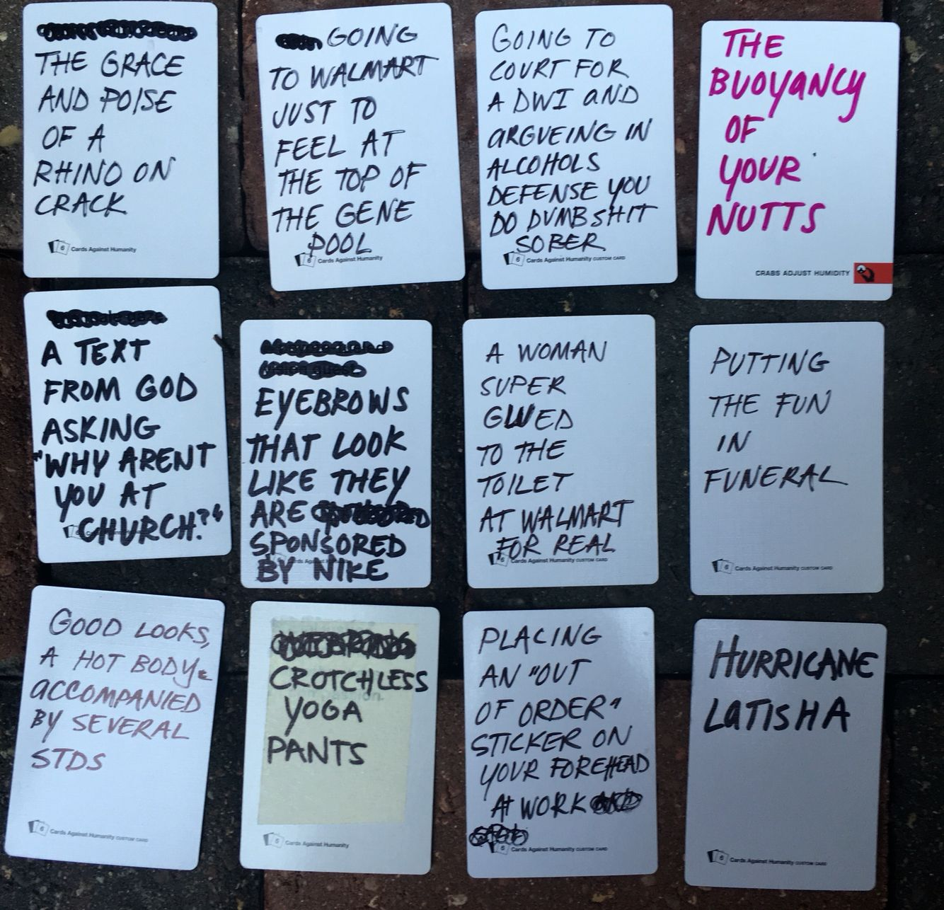 cards against humanity blank cards pdf