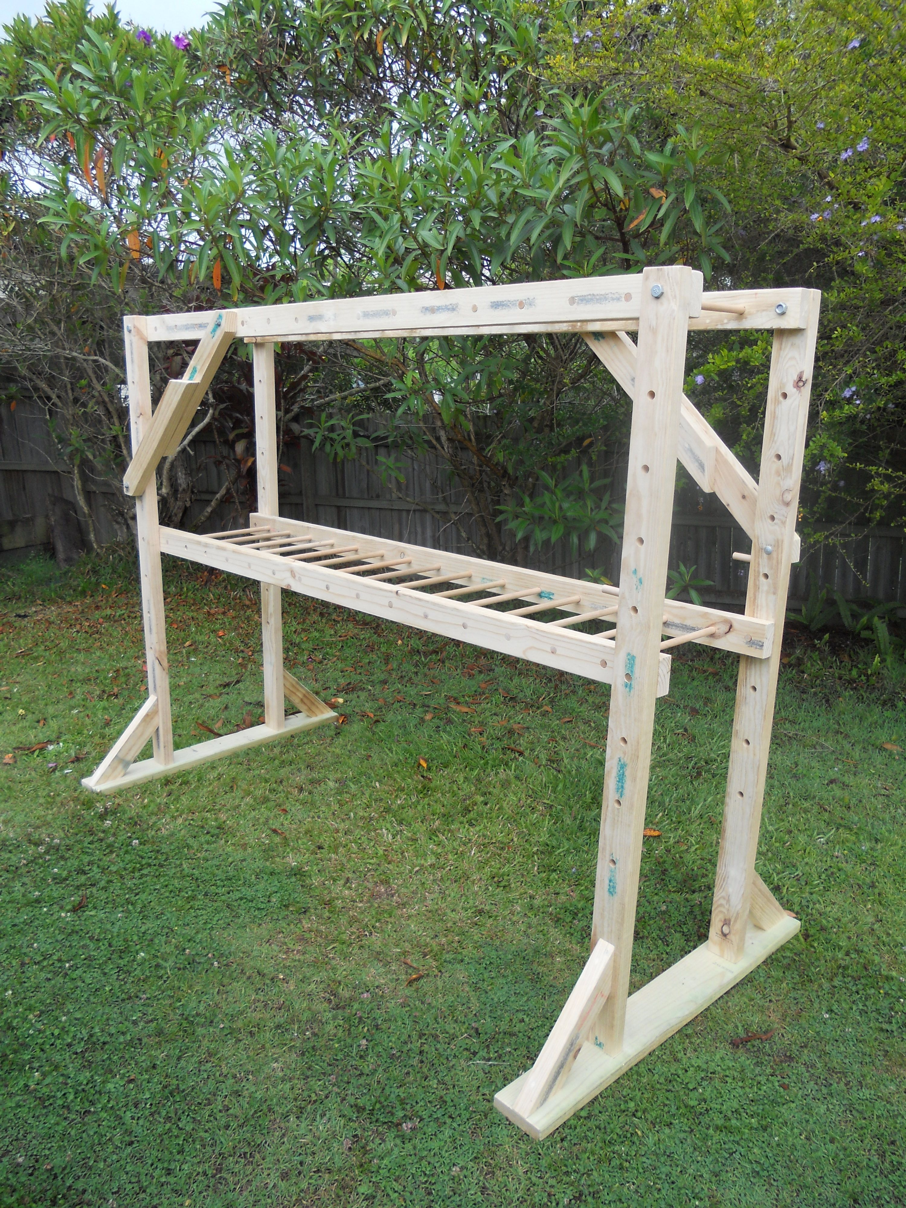 Brachiation ladder diy playground indoor play areas
