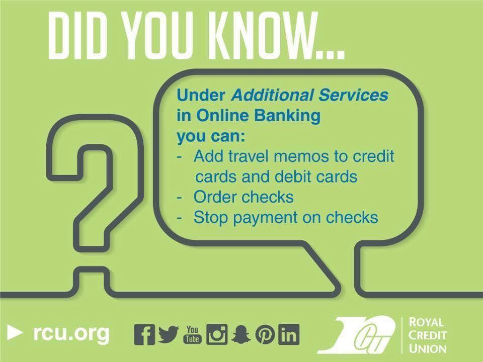 Wussten Sie, dass … die Möglichkeiten beim Online-Banking von Royal nahezu unbegrenzt sind! …   – Royal News