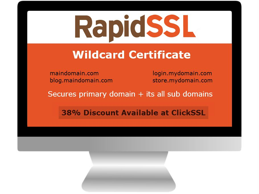 Secure Sub Domains With Rapidssl Wildcard Certificate It Is The