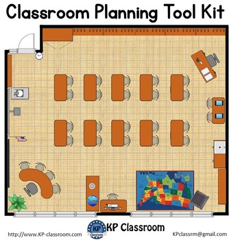 Classroom Planning And Seating Chart Design By Kp Classroom Teachers Pay Teachers In 2020 Classroom Planning Classroom Floor Plan Classroom